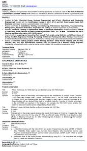 Electrical Engineer Resume Sample Electric Engineer Professional Resume Samples Electrical Engineer 8
