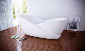 3 3 acrylic bath bathtub in bathroom interior
