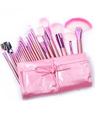 pink makeup brushes. 22pcs pink makeup brush set brushes a