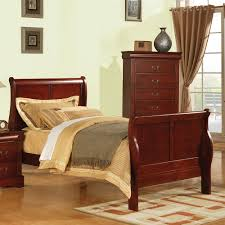 Louis Philippe Furniture Bedroom Acme 19528f Louis Philippe Iii Cherry Full Bed