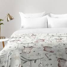 Christmas Bedding You'll Love | Wayfair & Squirrel Heavenly Christmas Comforter Set Adamdwight.com