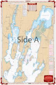 Northern Lake Champlain Navigation Chart 12