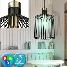 Fernbedienung Dimmer Schwarz Lampe Hänge Decken Retro Led