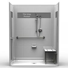 handicapped walk in shower stalls made in the u s a