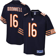 Mens Chicago Bears Pat ODonnell NFL Pro Line Navy Player Jersey