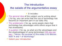argumentative essay  argumentative essay  the introduction  the body  the conclusion 3