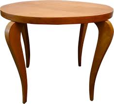 round coffee table in light wood 1960s previous next