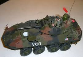 unimax toys. image 1 : model tank stamped *2004 unimax toys* av-25 armoured carrier unimax toys l