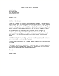 Download Hospitality Cover Letter Haadyaooverbayresort Com