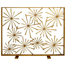 Art Deco Fireplace Screen  Google Search  Ideas For The House Modern Fireplace Screens