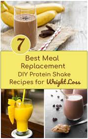 meal replacement diy protien shake