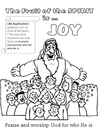 Fruit Of The Spirit Joy Coloring Page New Fruit Of The Spirit