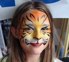 painted cat face