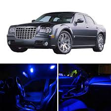 Chrysler 300c Interior Lights Amazon Com Scitoo 15pcs Blue Package Kit Accessories