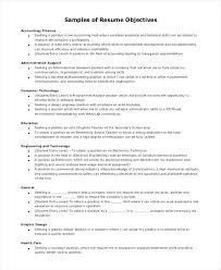Career Objectives For Resume Examples Resume Objective Templates Projects Design Sample Resume Objective 81