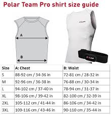 Polar Size Chart 2017 Pih Merchandise Register Now