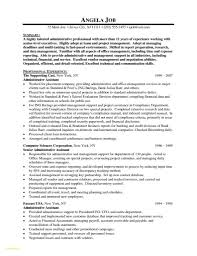 Cover Letter Senior Administrative Assistant Resume Samples