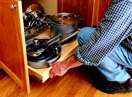 Norm Abrams Kitchen Cabinets How To Install A Pull Out Kitchen Shelf This Old House