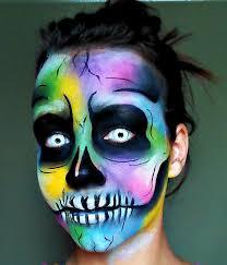 series 2016 rainbow skull makeup tutorial you