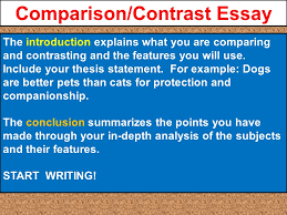 julius caesar project is due comparison contrast essay a pre  10 comparison contrast