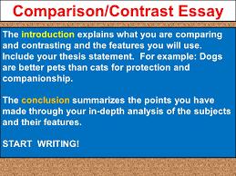 julius caesar project is due comparison contrast essay a pre 10 comparison contrast essay the