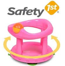 baby bath seat safety 1st swivel rotating ergonomic boy girl bathing chair