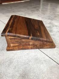 lap desk african walnut