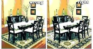 best rug for under kitchen table table rug rug under dining room table on carpet area