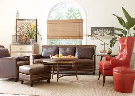 picture of high back leather accent chairs for living room