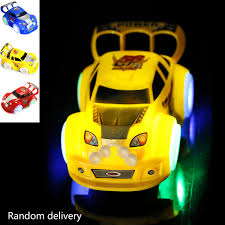 Led Light Toy Car Us 4 17 30 Off Led Light Music Sounds Toys Car Auto Driving Moving Electronics Led Light Up Cars For Glow Race Tracks Car Toys For Kid In Diecasts