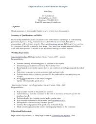 cashier experience resume sample of resume for cashier