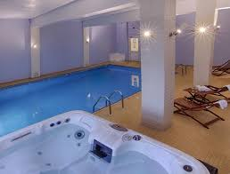 indoor pool and hot tub. View Larger Image Indoor Pool And Hot Tub For Relaxation At Luccombe Hall Hotel, Isle Of Wight