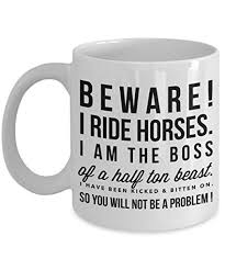 beware i ride horse horse gifts for women horse gifts for horse