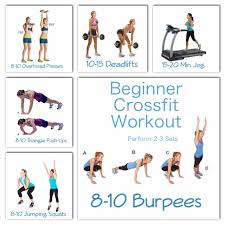 beginner crossfit workout full