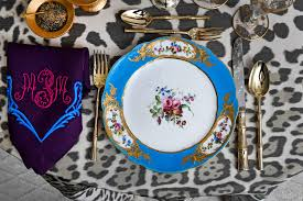 the table setting by alex papachristidis features marjorie merriweather post s french sevres 1768 po