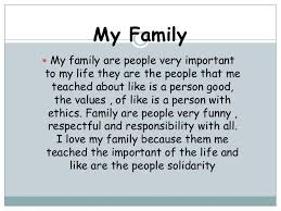 essay my family english co essay my family english