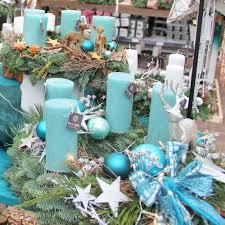 Weihnachten Mal Anders Adventskranz In Der Farbe Türkis