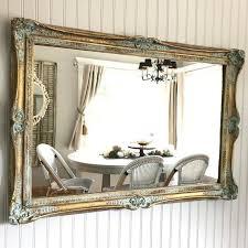gold mirror large bathroom wall decor