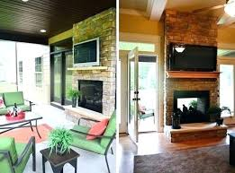 double sided wood burning fireplace indoor outdoor dual sided fireplace double sided indoor outdoor fireplace house crashing four a good cause young double