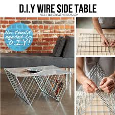 Diyers love our broad range of styles like modern, contemporary, rustic and chic, and colors like silver, chrome, brass and steel. 15 Awesome Diy Side Table Ideas