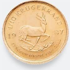 1 10 Ounce Krugerrand Gold Coin