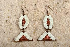 chandelier earrings unusual handmade leather earrings with rice costume jewelry fashion tips madeheart com