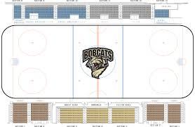 Blues Hockey Tickets Seating Chart Tickets Bismarck Bobcats