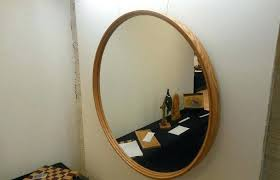 round mirror white frame mirror decoration medium size large round mirror wood frame designs wall mirrors