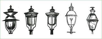 gas lantern post gas gas post light mantle gas lantern post