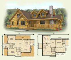 log home floor plans. Spruce Valley Log Home And Cabin Floor Plan **A Favorite** 3 Plans N
