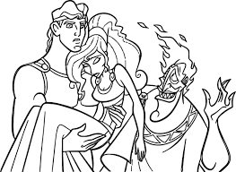 Printable coloring pages of hercules, baby hercules, baby pegasus and meg from disney's hercules. Hercules Meg Hades Coloring Pages Coloring Pages Staff Magic Printable Coloring Pages