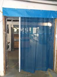 12x14 garage doorMesh Curtains  Bug Screens for Industrial Garage Doors