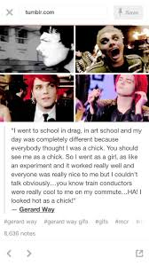 620 Best I Have This Thing For Gerard Way Images On Pinterest My