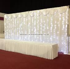 Curtain Led Lights Uk 3mx3m Ice White Led Curtain Lights For Wedding Backdrops